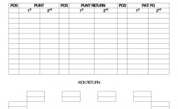 006 Top Football Depth Chart Template High Definition  American Excel Format Pdf Blank