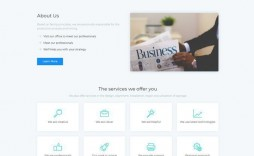006 Top Free Html Busines Web Template Download Highest Clarity  And Cs For