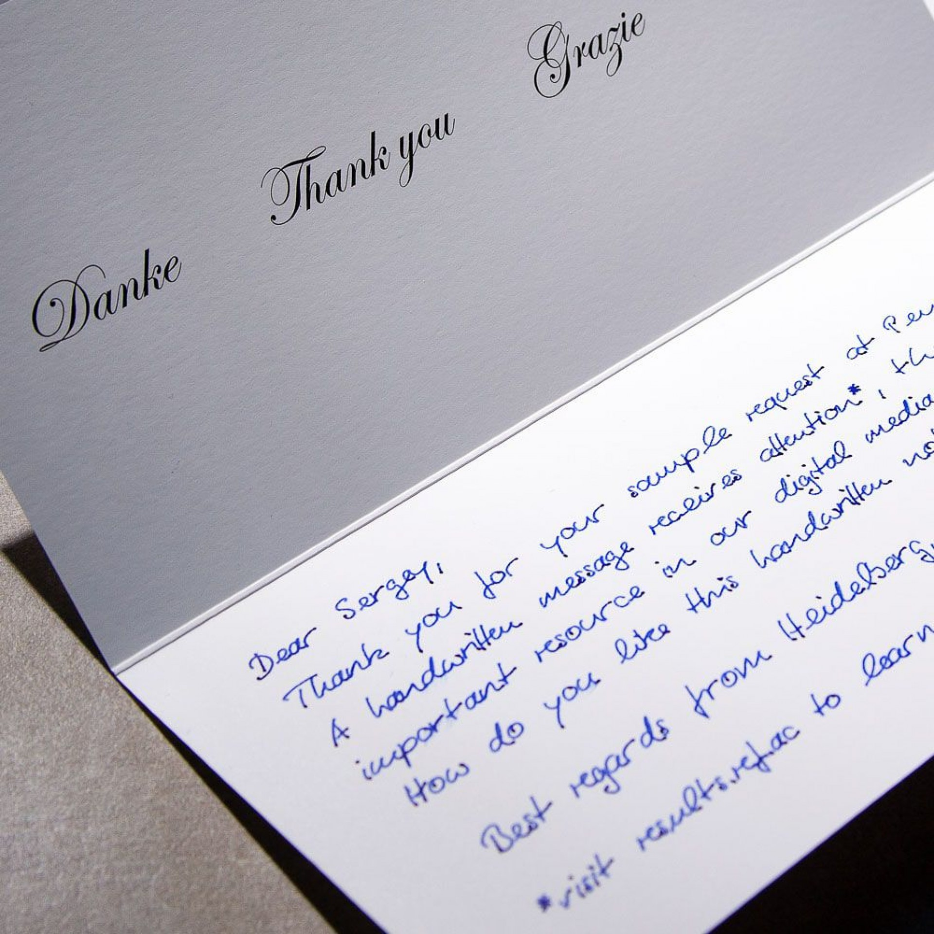 006 Top Handwritten Thank You Note After Interview Template Example 1920