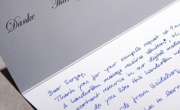 006 Top Handwritten Thank You Note After Interview Template Example