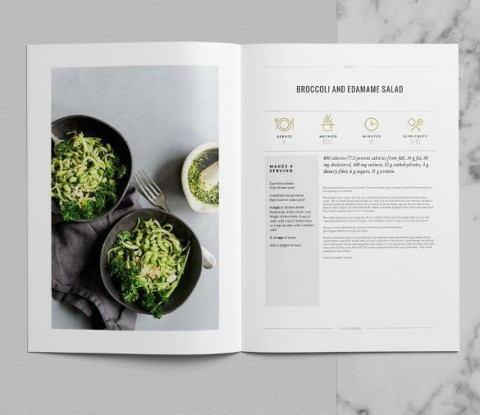 006 Top Make Your Own Cookbook Template Free High Def  Download480
