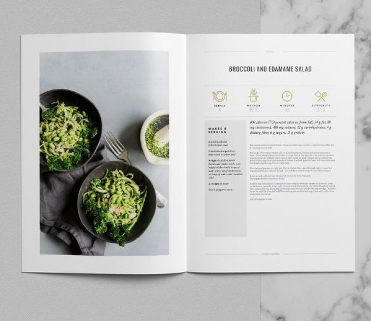 006 Top Make Your Own Cookbook Template Free High Def  Download728