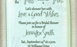 006 Top Mason Jar Invitation Template Image  Free Wedding Shower Rustic