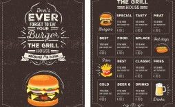 006 Top Menu Template Free Download For Restaurant Highest Quality  Word Psd