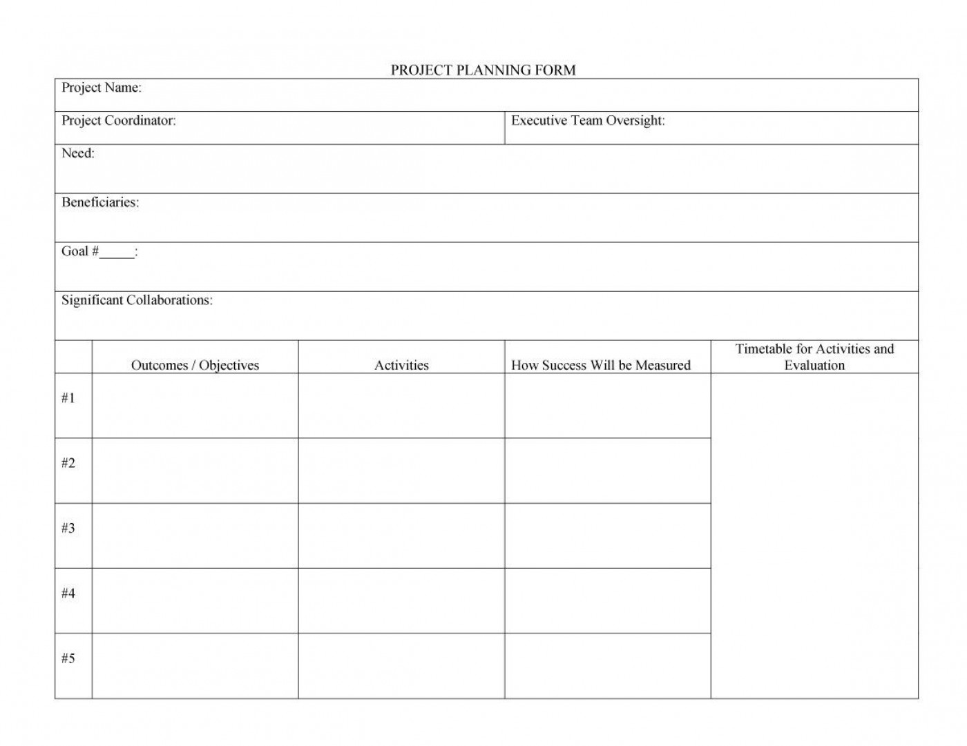 006 Top Microsoft Word Project Plan Template Picture  Simple Management1400
