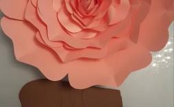 006 Top Paper Rose Template Pdf Design  Flower Giant Free Crepe