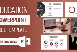 006 Top Powerpoint Template Free Education High Definition  Download Presentation Ppt