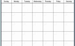 006 Top Printable Blank Monthly Calendar Template Highest Clarity  Pdf