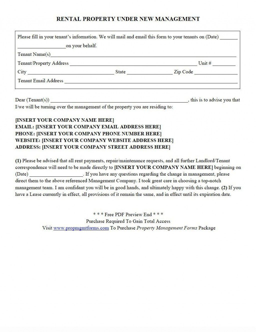 006 Top Property Management Contract Template Ontario Concept Full
