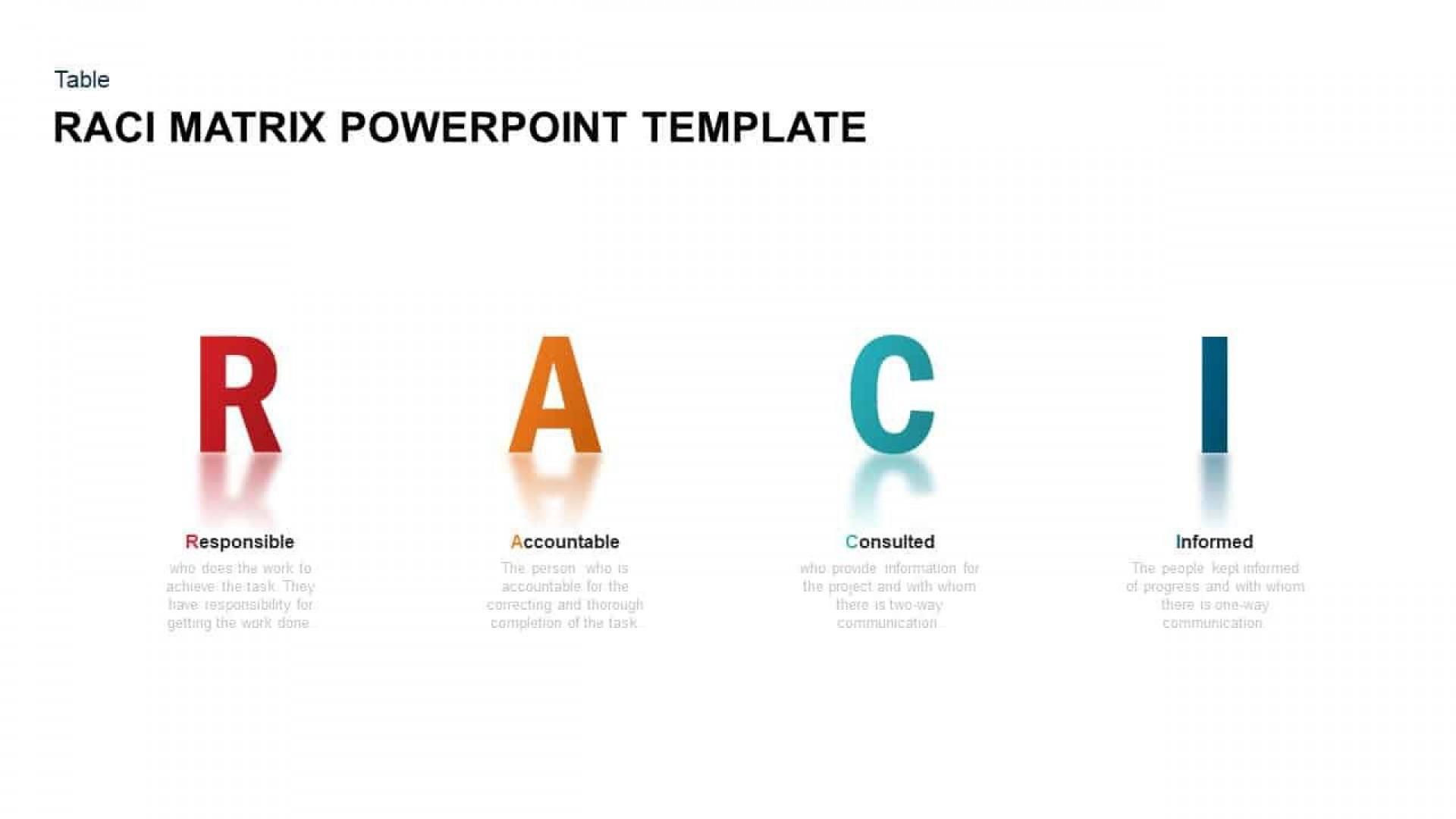 006 Top Role And Responsibilitie Matrix Template Powerpoint Idea 1920