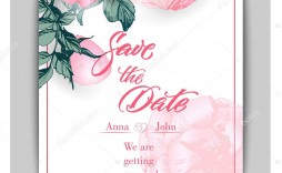 006 Top Save The Date Birthday Card Template High Resolution  Free Printable