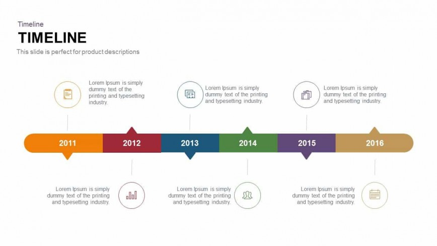 006 Top Timeline Template For Powerpoint Presentation Design  Graph868