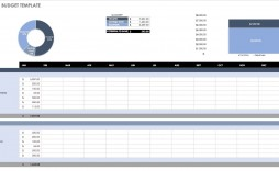 006 Unbelievable Budget Template In Excel Sample  Layout 2013