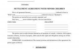 006 Unbelievable Child Custody Agreement Template Idea  Templates Pennsylvania Uk Free