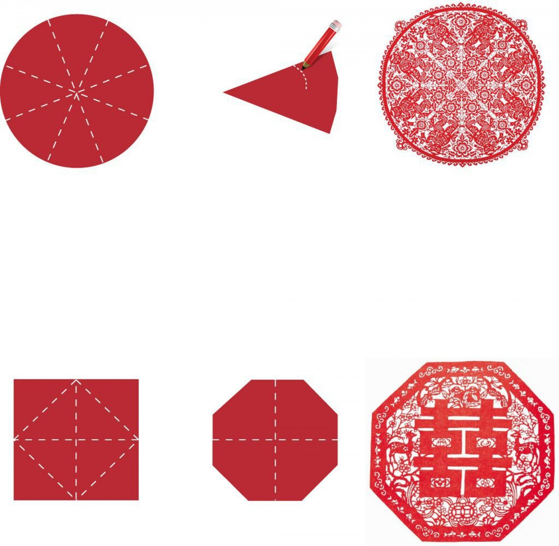 006 Unbelievable Chinese Paper Cut Template Photo  Templates Zodiac1920