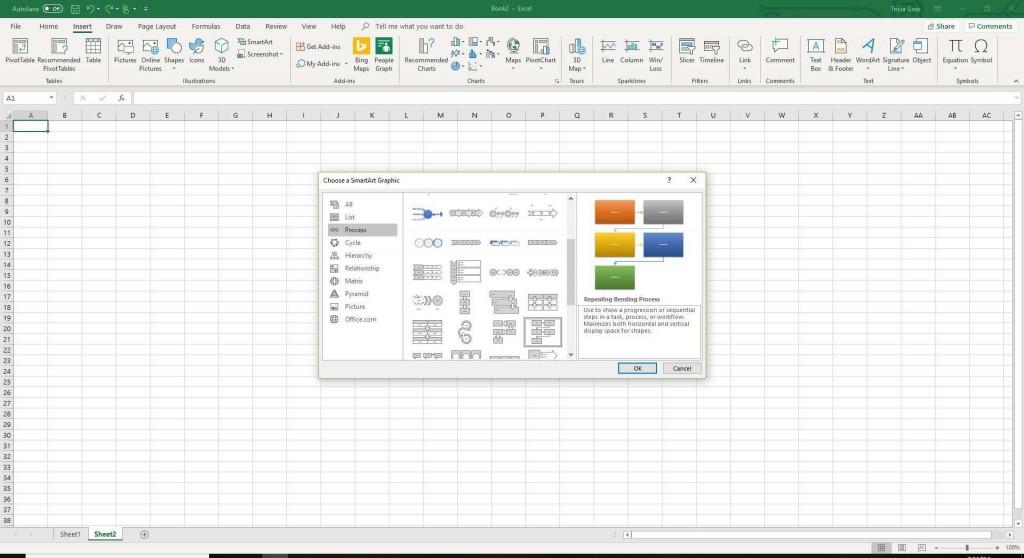 006 Unbelievable Flow Chart Microsoft Excel Idea  Flowchart TemplateLarge