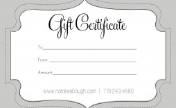 006 Unbelievable Free Printable Template For Gift Certificate Concept  Certificates Voucher Birthday