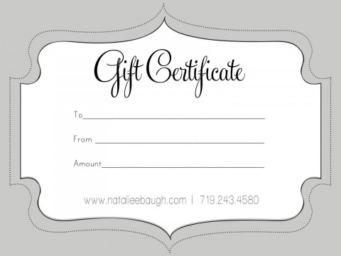 006 Unbelievable Free Printable Template For Gift Certificate Concept  Voucher480