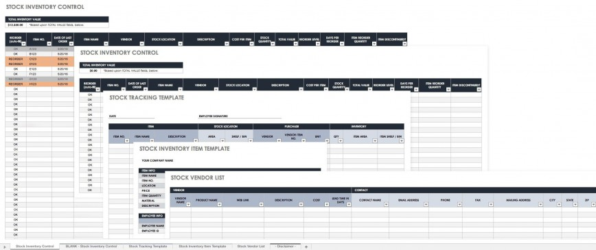 006 Unbelievable Inventory Tracking Excel Template High Resolution  Retail Tracker Microsoft868