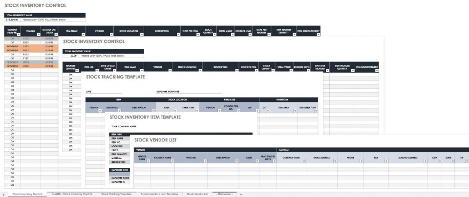 006 Unbelievable Inventory Tracking Excel Template High Resolution  Retail Tracker Microsoft960