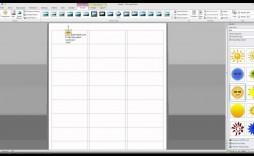 006 Unbelievable Microsoft Word Addres Label Template 16 Per Sheet Concept