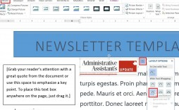 006 Unbelievable Newsletter Template Microsoft Word High Resolution  Download Free Blank