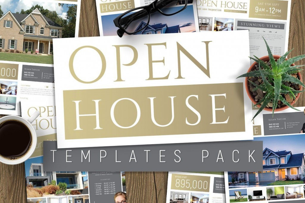 006 Unbelievable Open House Flyer Template Picture  Templates Free School MicrosoftLarge