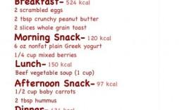 006 Unbelievable Sample 1500 Calorie Meal Plan Pdf Example