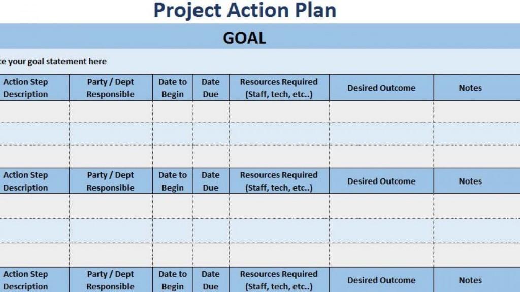 006 Unbelievable Simple Project Management Plan Template Excel Image Large