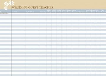 006 Unbelievable Wedding Guest List Excel Spreadsheet Template Picture 360