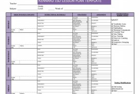 006 Unbelievable Weekly Lesson Plan Template Pdf Highest Clarity  Blank