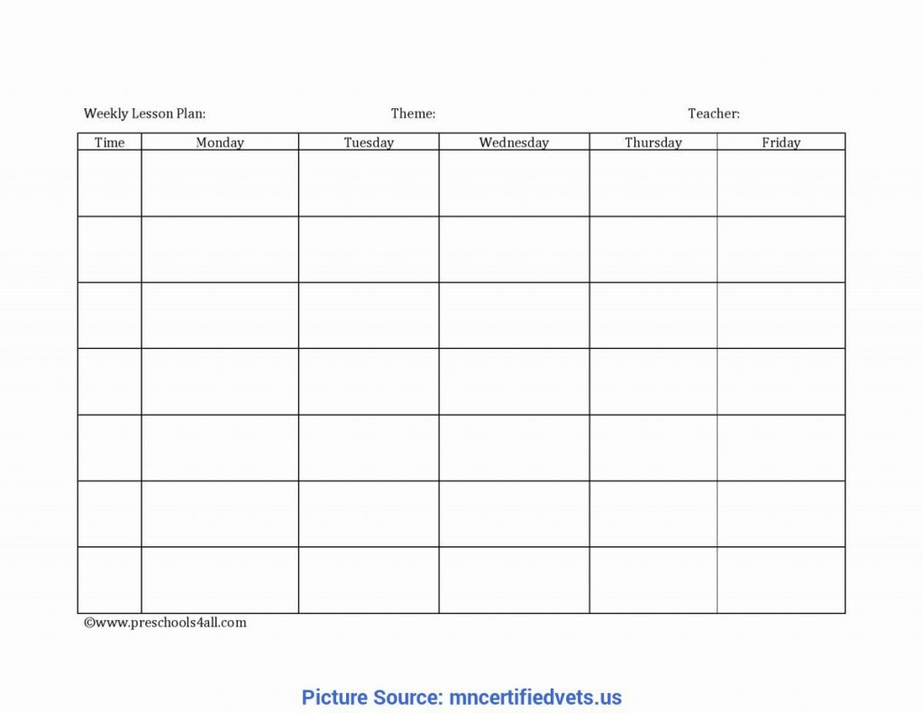 006 Unbelievable Weekly Lesson Plan Template Photo  Editable Preschool Pdf Google SheetLarge