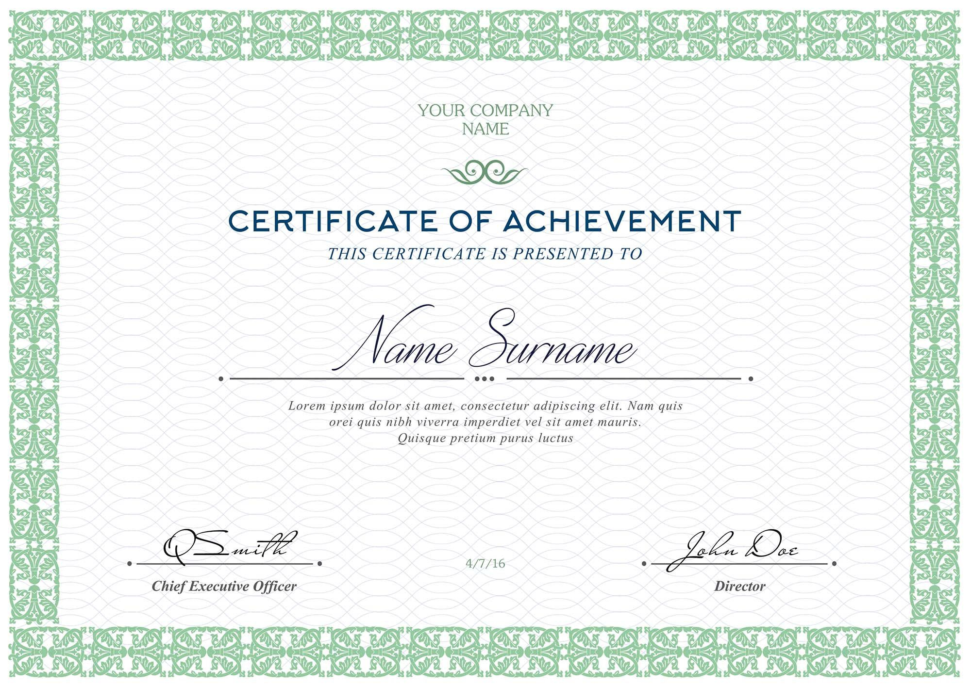 006 Unforgettable Free Diploma Template Download High Definition  Word Certificate School AppreciationFull