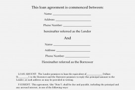 006 Unforgettable Free Loan Agreement Template Inspiration  Ontario Word Pdf Australia South Africa