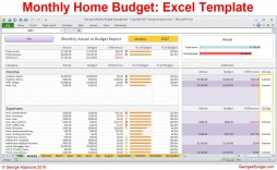 006 Unforgettable Monthly Expense Excel Template Sample  Budget Spreadsheet Free