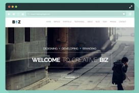 006 Unforgettable One Page Website Template Html5 Free Download High Def  Parallax