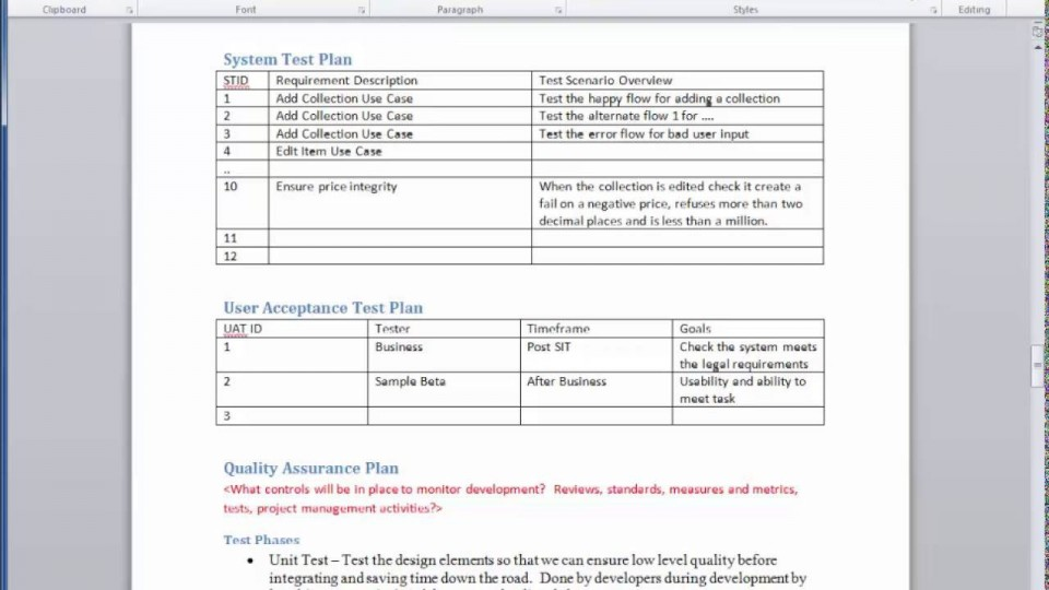 006 Unforgettable Quality Management Plan Template High Def  Sample Pdf Example In Construction Doc960
