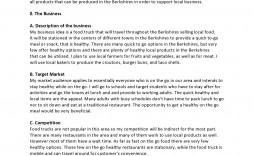 006 Unforgettable Restaurant Busines Plan Sample Uk Concept  Template Free
