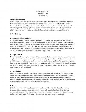 006 Unforgettable Restaurant Busines Plan Sample Uk Concept  Template Free360