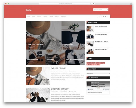 006 Unforgettable Simple Blogger Template Free Highest Clarity  Blogspot Download Blog480