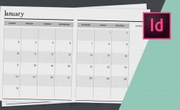 006 Unique 2020 Calendar Template Indesign Sample  Adobe Free