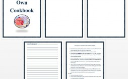 006 Unique Create Your Own Cookbook Free Template Image  Templates