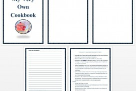 006 Unique Create Your Own Cookbook Free Template Image