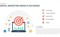 006 Unique Digital Marketing Plan Template High Resolution  .xl Doc