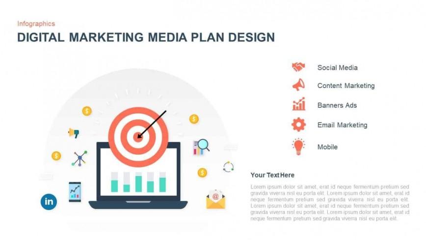 006 Unique Digital Marketing Plan Template High Resolution  Example Ppt Pdf Sample