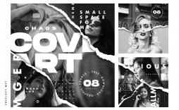 006 Unique Free Photoshop Collage Template Sample  Templates Psd Download Photo For Element