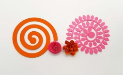 006 Unique Free Rolled Paper Flower Template For Cricut Image