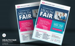 006 Unique Health Fair Flyer Template Free Inspiration  Download