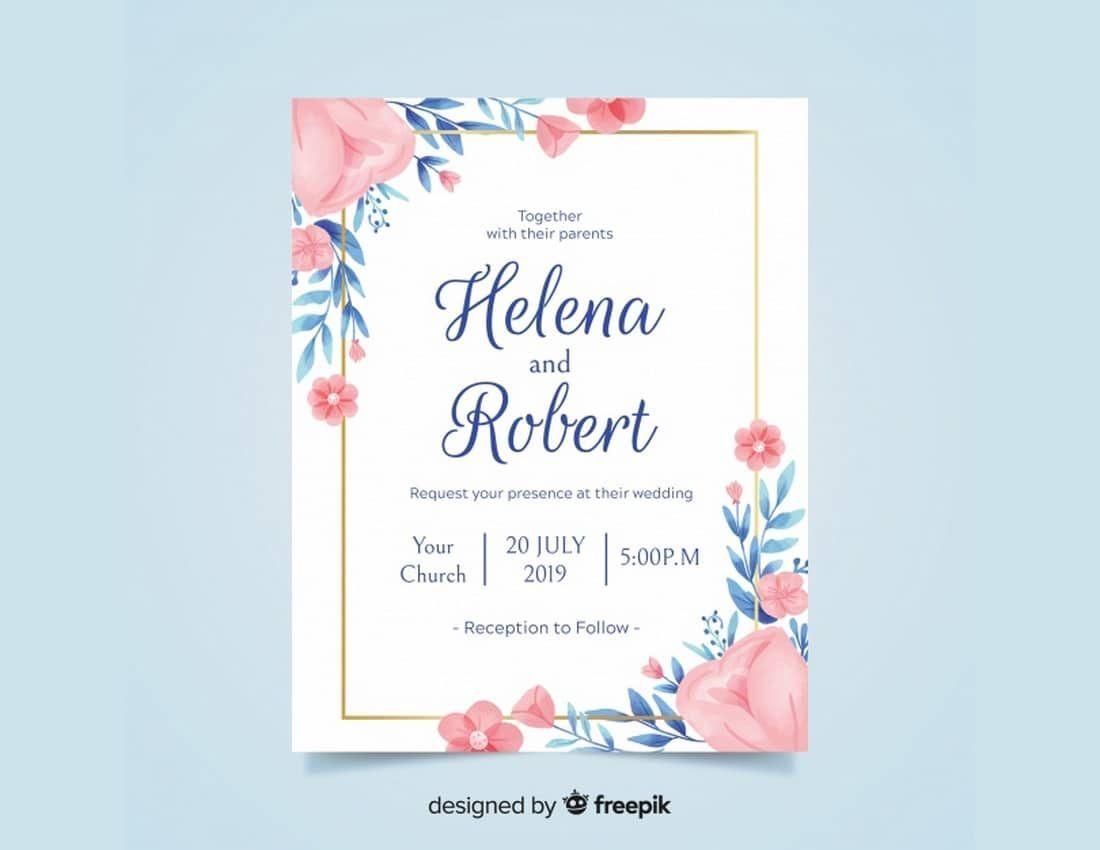 006 Unique Microsoft Word Wedding Invitation Template Photo  Templates M Editable Free Download ChineseFull