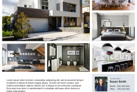 006 Unique Real Estate Advertising Template Example  Newspaper Ad Instagram Craigslist